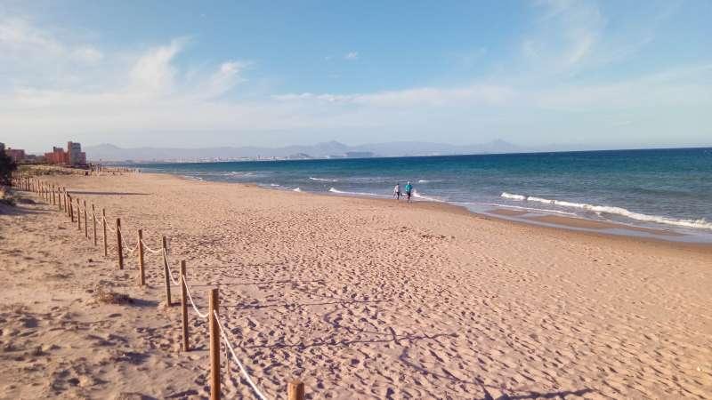 Playa del Carabassi/EPDA