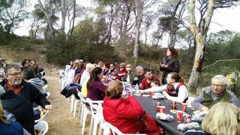 Passejada i acte en La Vallesa. EPDA