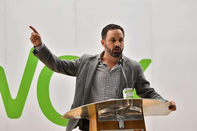 El presidente de VOX, Santiago Abascal. EFE/Archivo
