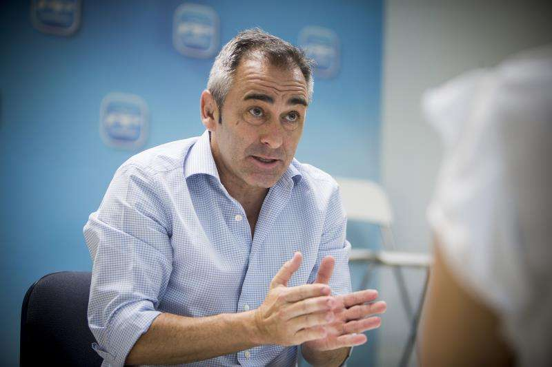 El presidente del PP de Castellón, Miguel Barrachina. EFE/Archivo