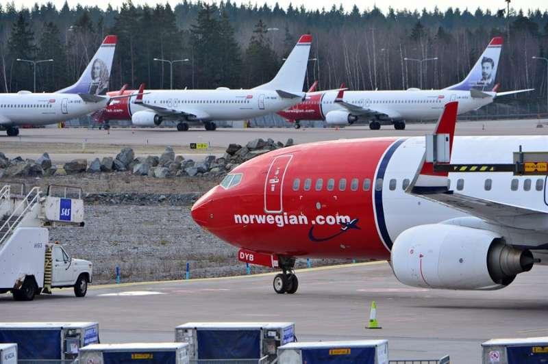 Un avión de la compañía.// EFE.