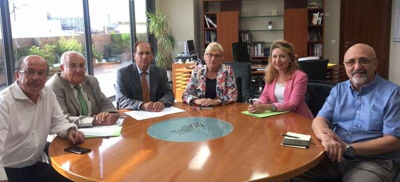 Comisión permanente del Colegio de médicos de València
