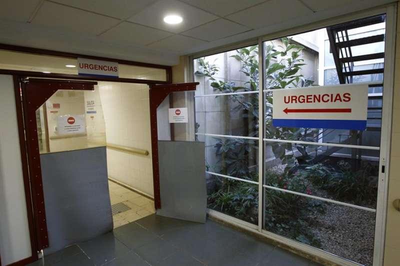Puerta de entrada a una sala de Urgencias. EFE
