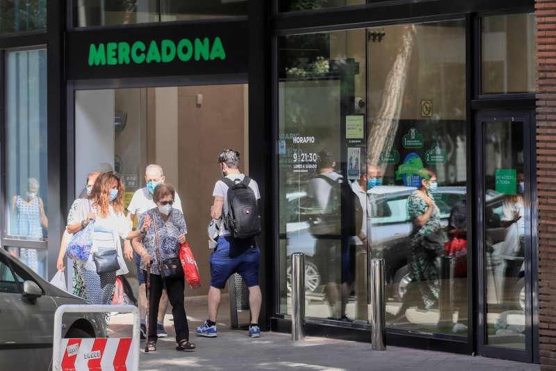 Imagen de archivo de un supermercado de la cadena Mercadona.