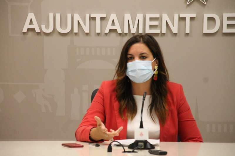 Sandra Gómez en una imagen de archivo. EPDA