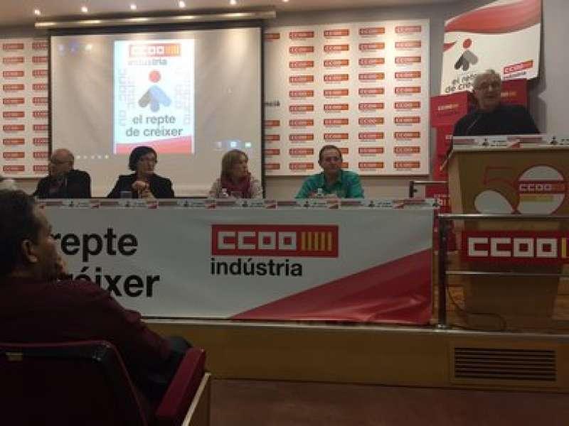 El alcalde de València, Joan Ribó, durante su intervención. EPDA