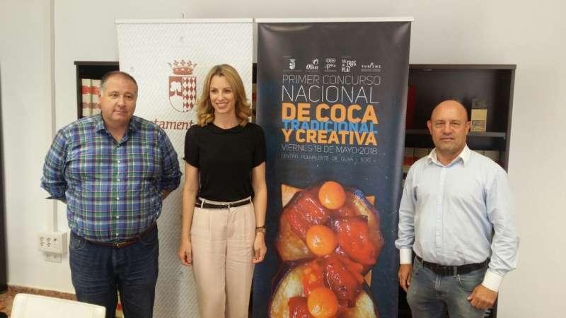 Presentación del Concurso en el Ayuntamiento de Oliva.