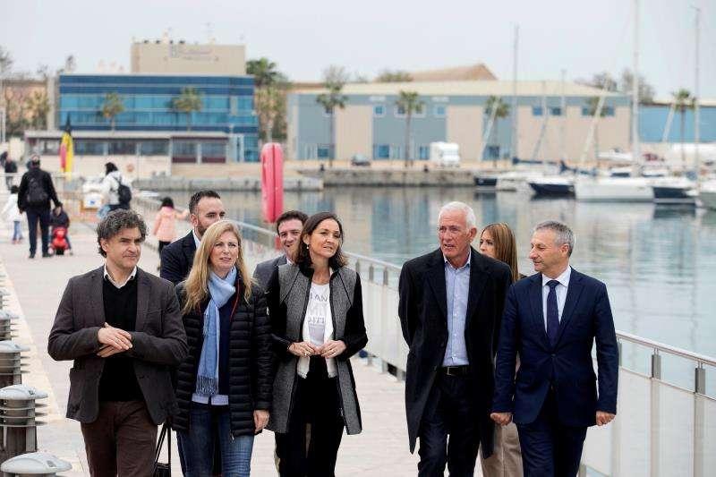 La ministra Maroto en Castellón. EFE
