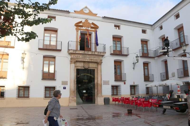 Ayuntamiento de Utiel. Foto: AG / EPDA