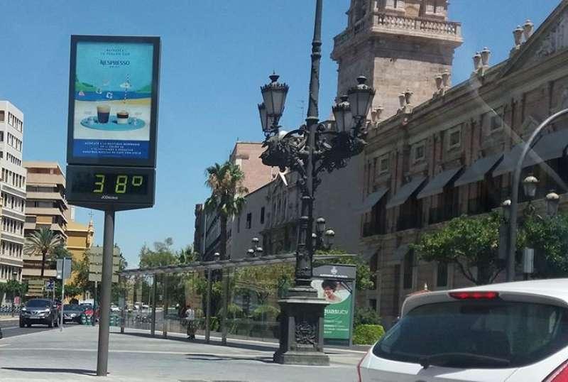 Altas temperaturas en la Comunitat Valenciana. EPDA