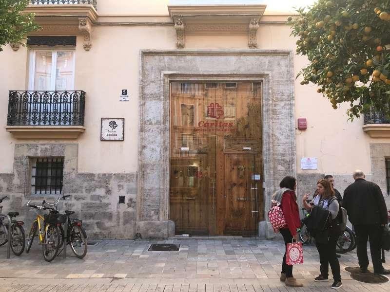 Sede de Cáritas en València. EPDA