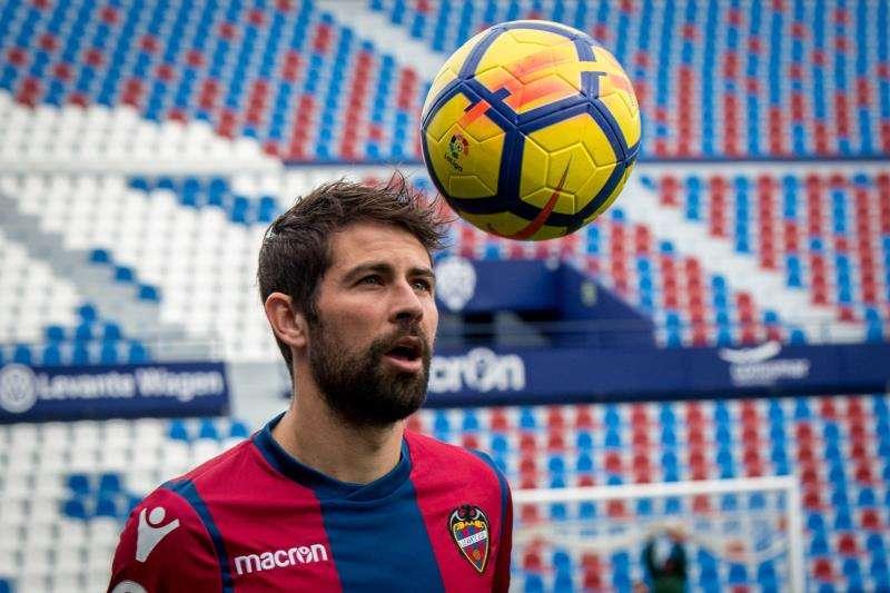 El jugador del Levante UD Coke Andújar. EFE/Archivo