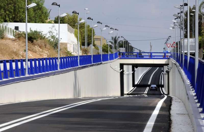 Carretera que pasa por Godella y Rocafort. EPDA