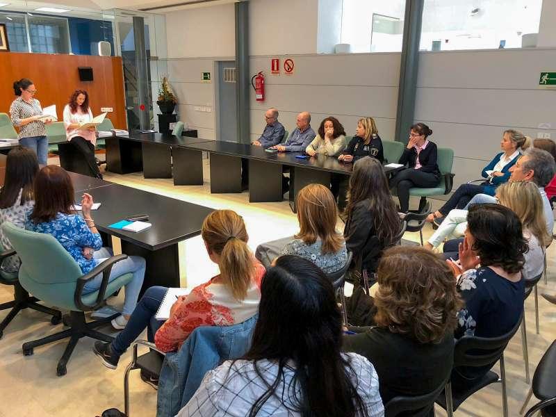 Presentació de la guia en Massamagrell. EPDA