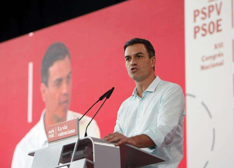 El secretario general del PSOE, Pedro Sánchez, en una visita anterior a Alicante. EFE/Archivo