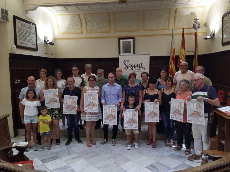 Imagen de la presentación del Día de la Romanitat en Sagunt. EPDA