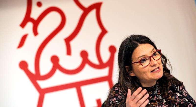 La candidata de Compromís a la Generalitat, Mónica Oltra. EFE/Archivo
