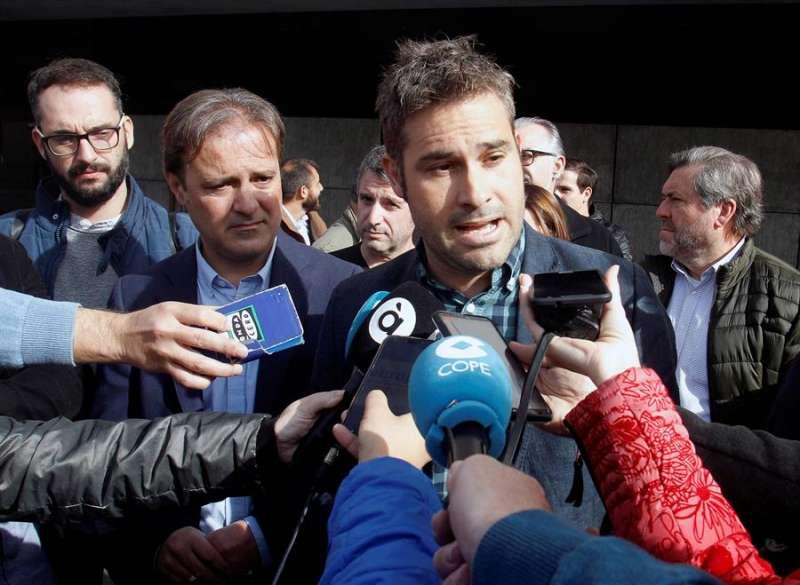 El portavoz de Compromís en la Diputación de Alicante, Gerard Fullana. EFE