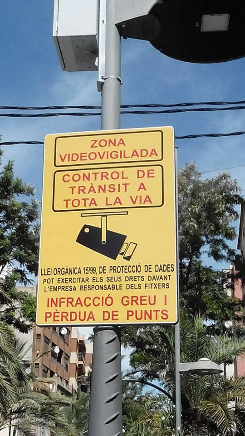 Sistema foto-rojos de Catarroja. EPDA