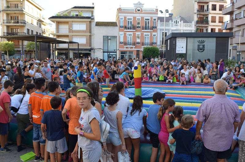 Èxit de participació als actes infantiles de les festes de Sedaví. EPDA