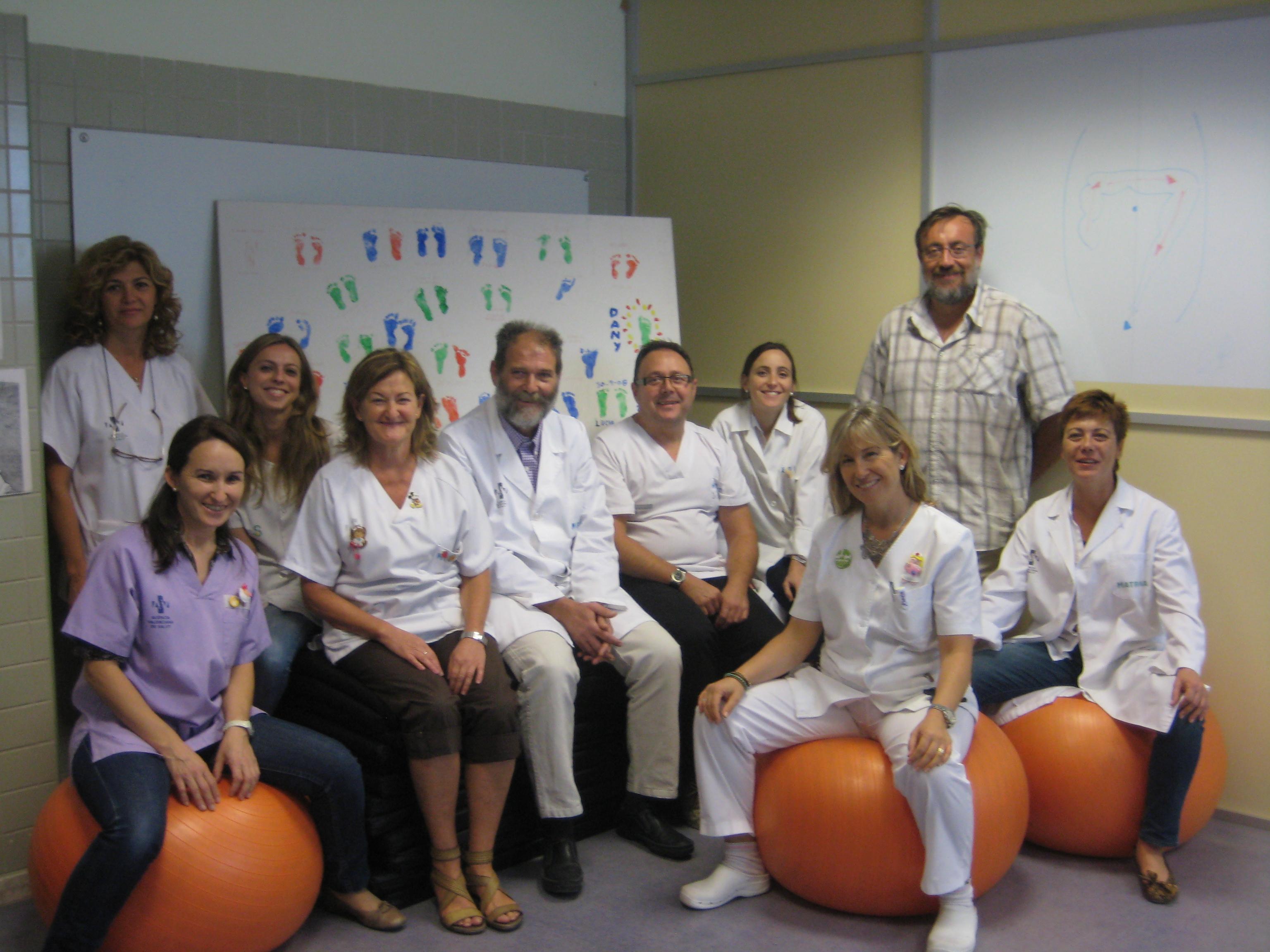 La comisión de apoyo a la lactancia materna en el Centro de Salud de Moncada.