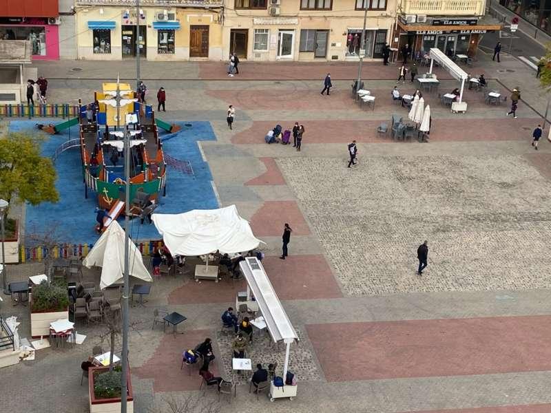 Plaza de Tavernes de la Valldigna. EPDA