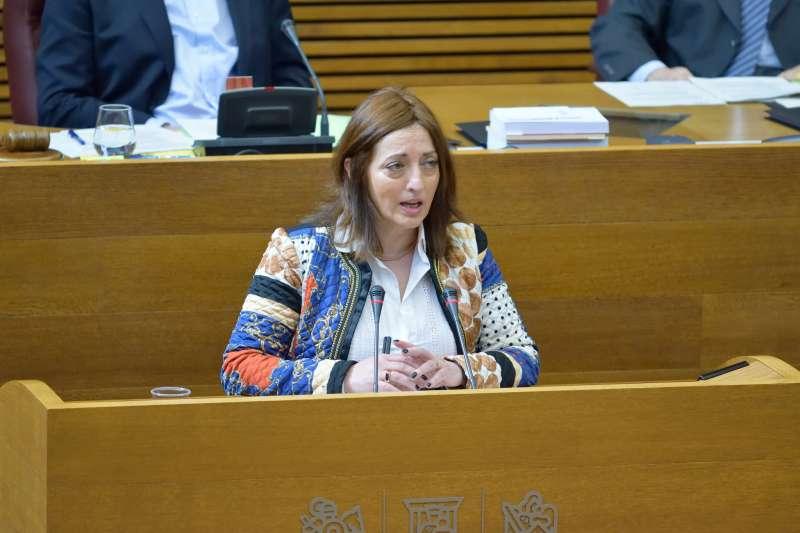 Rosa García, diputada autonómica de Ciudadanos. FOTO EPDA