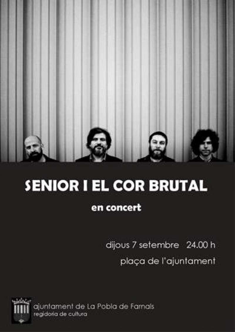 Cartell del concert. EPDA