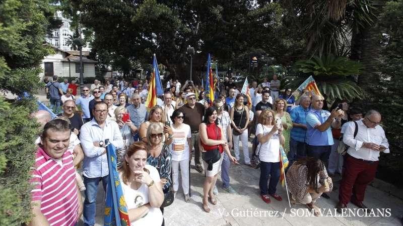 Parte del público asistente. FOTO V. GUTIÉRREZ