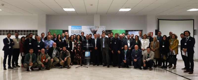 Foto de familia de la asamblea anual. / EPDA