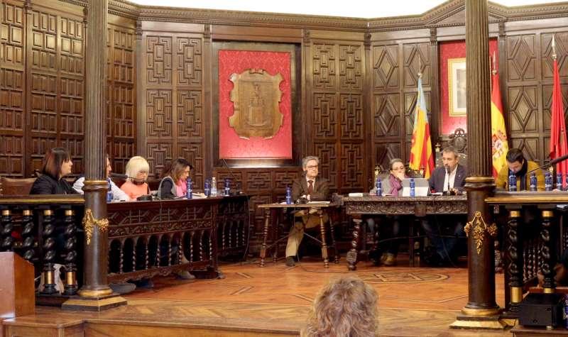 Equipo de gobierno PSOE/SP de SEgorbe