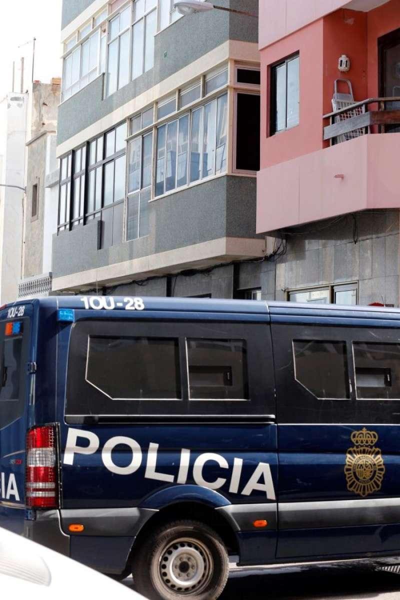 La Policía Nacional en una operación policial. EFE/Archivo