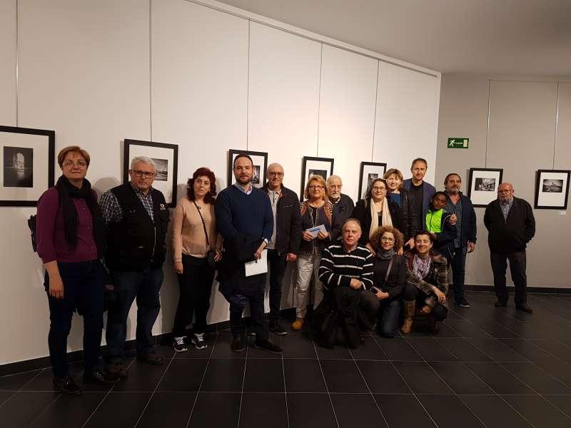 Foto de grup inauguració de l