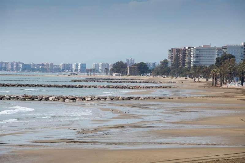 Una imagen de archivo de las playas de Benicàssim./ EFE