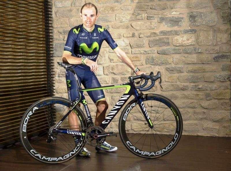 Alejandro Valverde busca un nuevo título para el Movistar