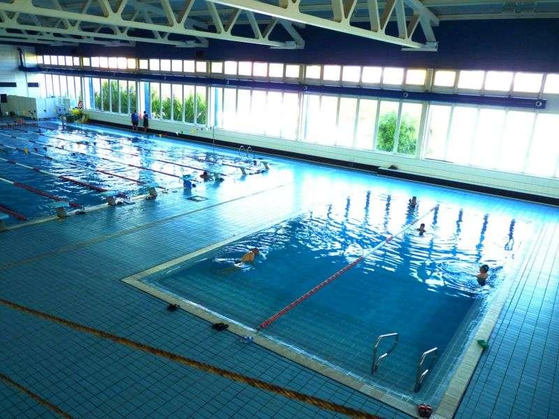 Piscina del gimnàs esportiu. EPDA
