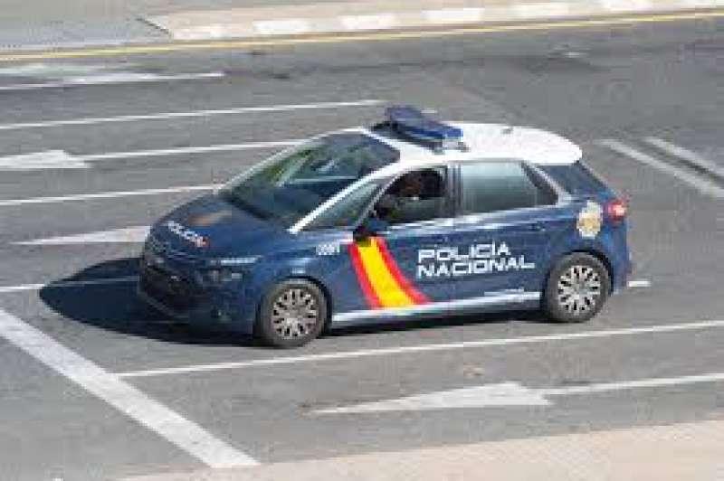 Vehículo de policía. EFE