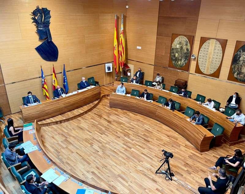 Pleno de la Diputación. EPDA.