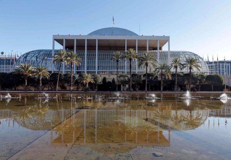 El Palau de la Música de València. EFE/Archivo