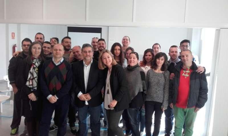 Participantes en el curso. EPDA