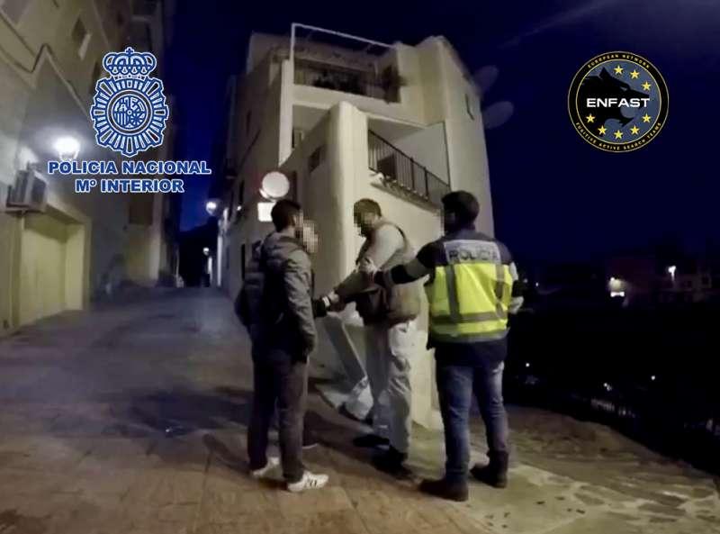 Detención FOTO POLICIA