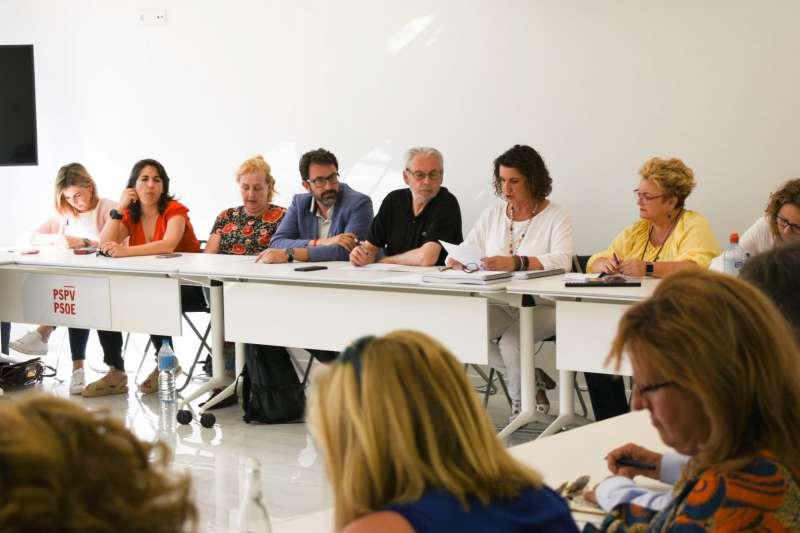 Directiva del PSPV-PSOE autonómico