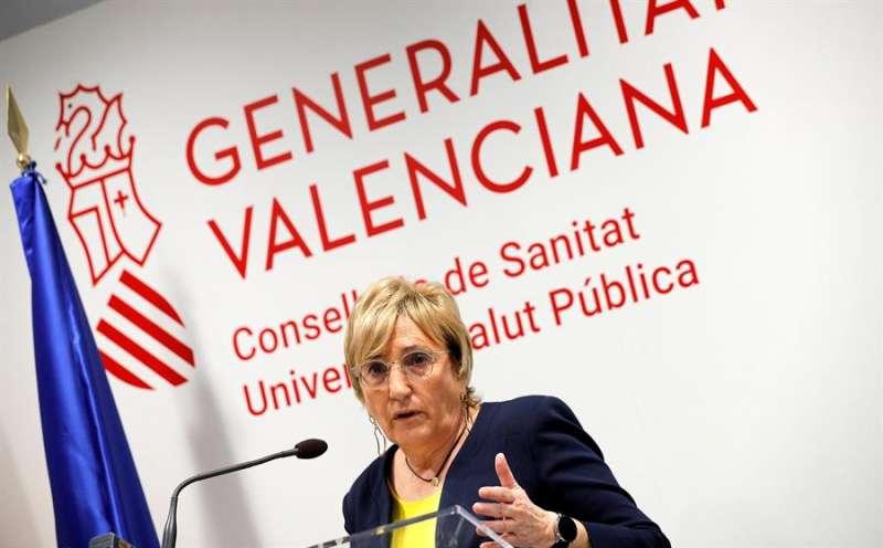 La consellera de Sanidad Universal y Salud Pública, Ana Barceló. EFE/Manuel Bruque/Archivo