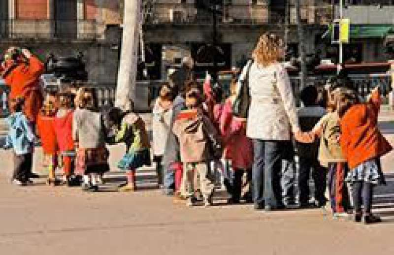 Niños en edad escolar. EPDA