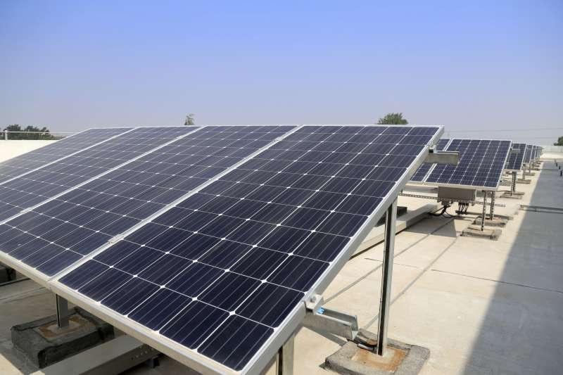 Plaques solars./EPDA
