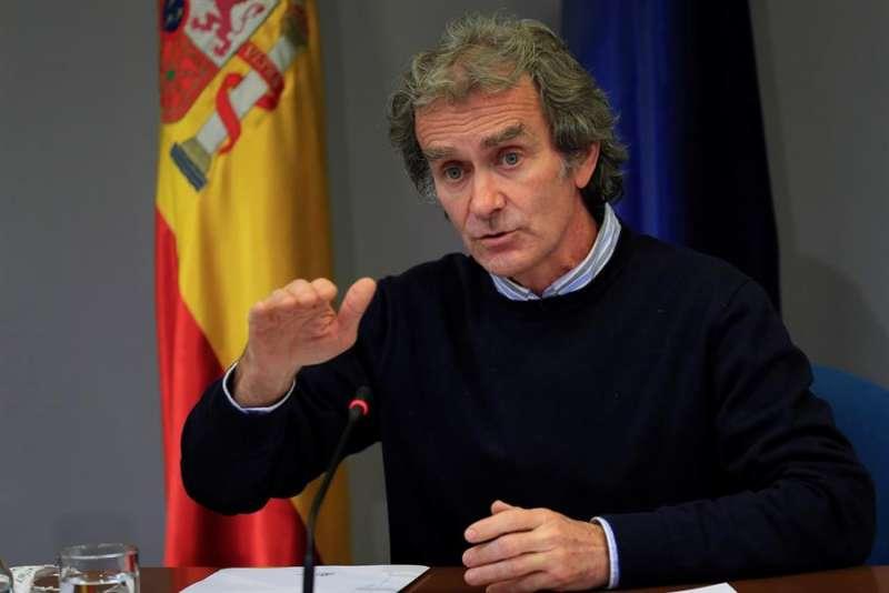 El director del Centro de Alertas y Emergencias (CCAES), Fernando Sim�n. EFE