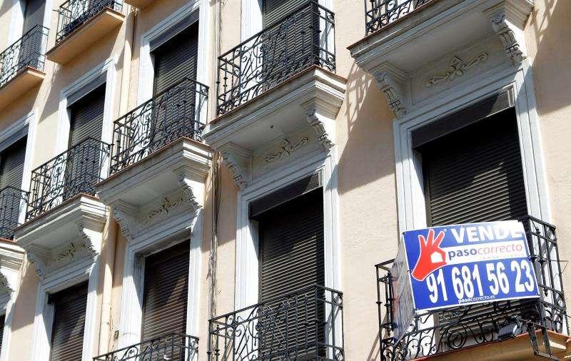 Imagen de un piso en venta. EFE/Archivo