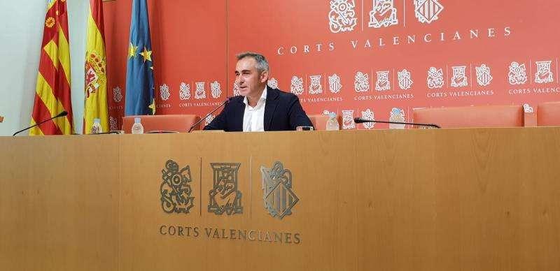 El portavoz de Infraestructuras del grupo popular en Les Corts, Miguel Barrachina. EFE/GPP
