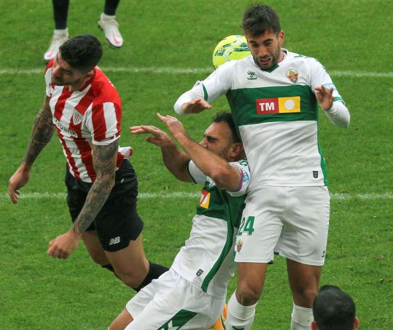 El Elche se juega la permanencia ante el Athletic Club.