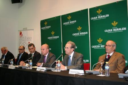 Asamblea General de la Federación de Cajas Rurales Cooperativas de Crédito Valencianas en Forinvest. Foto EPDA